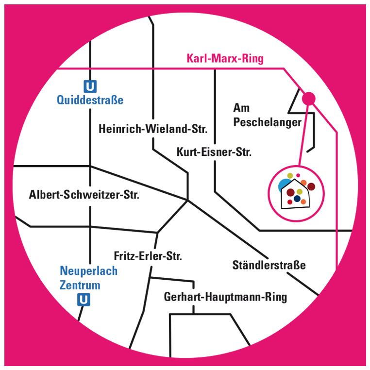 Stadtplan-Neuperlach