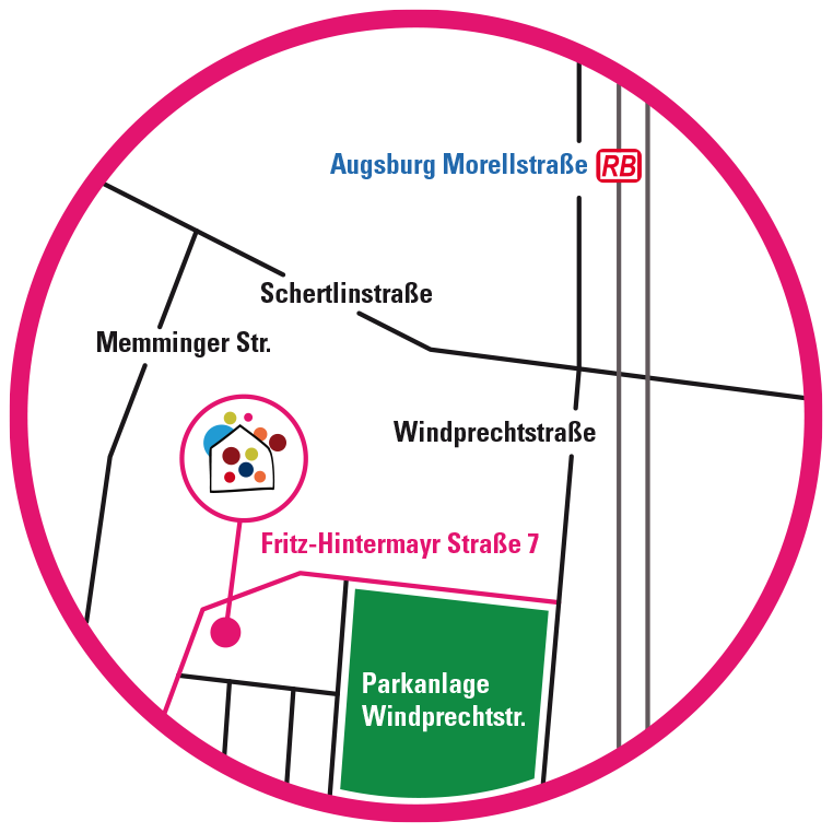 Stadtplan-Aubing