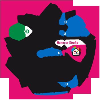 Stadtplan-Moosach